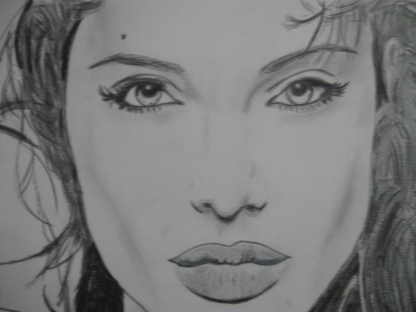 Angelina Jolie por pasquale